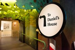 Ricordi i bambini: Storia di Daniel's Fotografia Stock