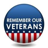 Ricordi i nostri veterani Fotografia Stock