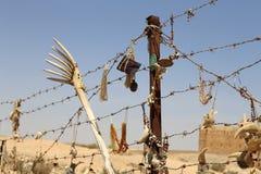 Ricordi locali tradizionali in Giordania Fotografie Stock