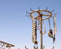 Ricordi locali tradizionali in Giordania Fotografia Stock
