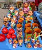 Ricordi nel mercato a Almaty, il Kazakistan Fotografia Stock Libera da Diritti
