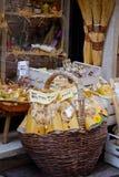 Ricordi toscani per i turisti Fotografia Stock