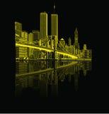 Ricordi WTC Fotografia Stock