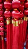 Ricordo cinese rosso dentro Fotografie Stock