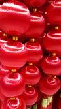 Ricordo cinese rosso dentro Immagini Stock Libere da Diritti