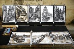 Ricordo da vendere in cubano Fotografie Stock