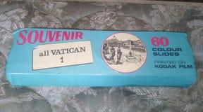 Ricordo degli scorrevoli del Vaticano fotografie stock