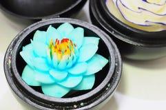 Ricordo del fiore fatto di sapone da Immagini Stock Libere da Diritti