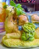 Ricordo del Marocco con il cammello Fotografia Stock