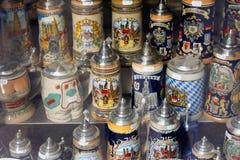 Ricordo della birra - MONACO DI BAVIERA - Germania fotografia stock