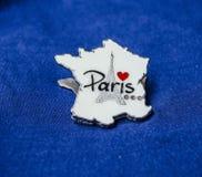 Ricordo della torre Eiffel di Parigi fotografia stock