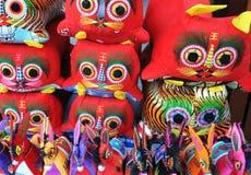 Ricordo di Xian, Cina Fotografia Stock
