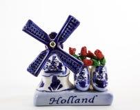 Ricordo Holland Windmill Fotografia Stock