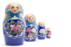 Ricordo russo Fotografia Stock