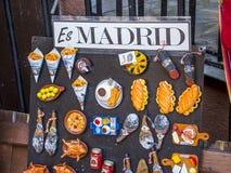 Ricordo tradizionale dalla città di Madrid Immagine Stock