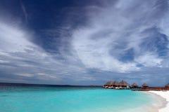 Ricorso delle Maldive Immagine Stock Libera da Diritti