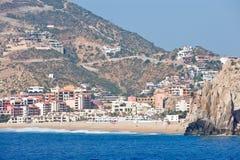 Ricorso di Cabo San Lucas scenico Fotografia Stock