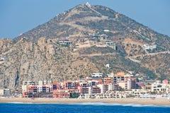 Ricorso di Cabo San Lucas scenico Fotografie Stock Libere da Diritti