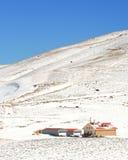 Ricorso di inverno Fotografie Stock
