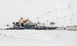 Ricorso di inverno Fotografia Stock