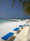 Ricorso di isola dei Maldives Fotografia Stock Libera da Diritti