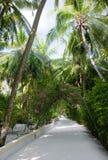 Ricorso di isola di Nika, Maldives Immagini Stock