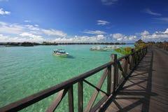 Ricorso di isola tropicale Fotografie Stock Libere da Diritti