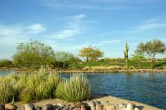Ricorso di Scottsdale Fotografie Stock Libere da Diritti