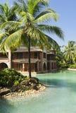 Ricorso tropicale di lusso in Goa del sud Fotografie Stock