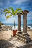 Ricorso tropicale Puerto Vallarta Migliore spiaggia nel Messico Punto di vista dell'Oceano Pacifico Immagine Stock