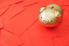 Ricos en Año Nuevo Imagen de archivo libre de regalías