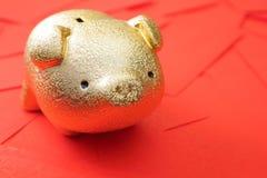 Ricos en Año Nuevo Fotos de archivo libres de regalías