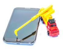 Ricostruisca il vostro sistema di telefono fotografia stock libera da diritti