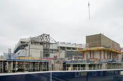 Ricostruzione bianca di Hart Lane Stadium fotografia stock