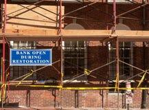 Ricostruzione della Banca Fotografia Stock