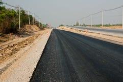 Ricostruzione della strada asfaltata Immagini Stock Libere da Diritti
