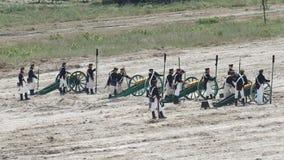 Ricostruzione di battaglia di Balaclava archivi video
