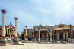 Ricostruzione di Roma Fotografie Stock