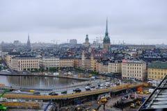Ricostruzione di Stoccolma, Svezia di Stoccolma Immagine Stock