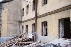 Ricostruzione di una costruzione Fotografia Stock Libera da Diritti