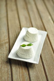 Ricotta cheese Royalty Free Stock Photography