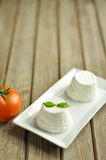 Ricotta cheese Royalty Free Stock Images