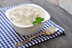 Ricotta cheese Royalty Free Stock Image