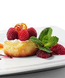 Ricotta Cheese Cake Stock Image