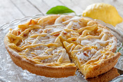 Ricotta Cheese Cake Stock Photography