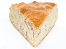 Ricotta cheese calzone. Stock Photo