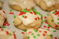 Ricotta cheese cookies Royalty Free Stock Photography