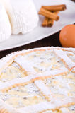 Ricotta cheese crostata. Stock Photos