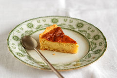 Ricotta Cheese Tart Royalty Free Stock Photography