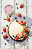 Ricotta cheesecake Royalty Free Stock Photography